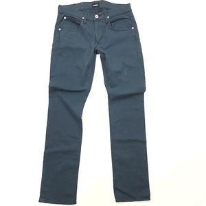 Hudson Jeans Byron Five Pocket Straight Leg Denim